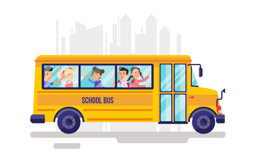 How to make the parents feel secured about school transport system?